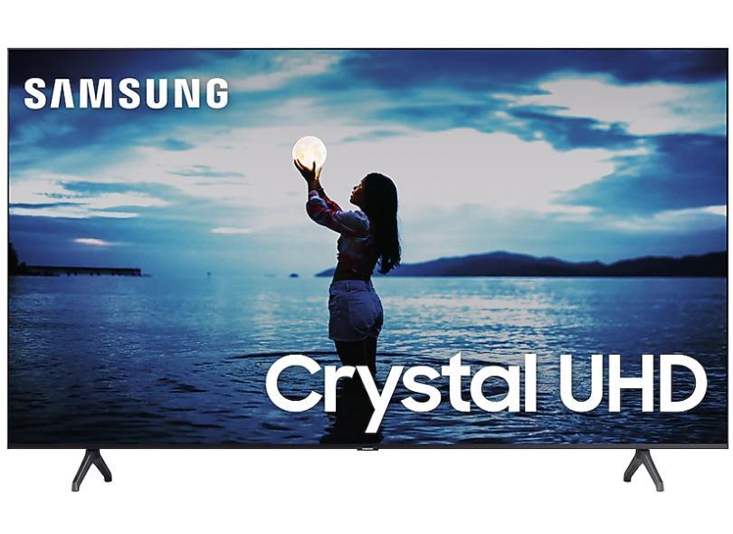 "Smart TV TV LED 55 "" Samsung Crystal 4K HDR UN55TU7020GXZD 2 HDMI"