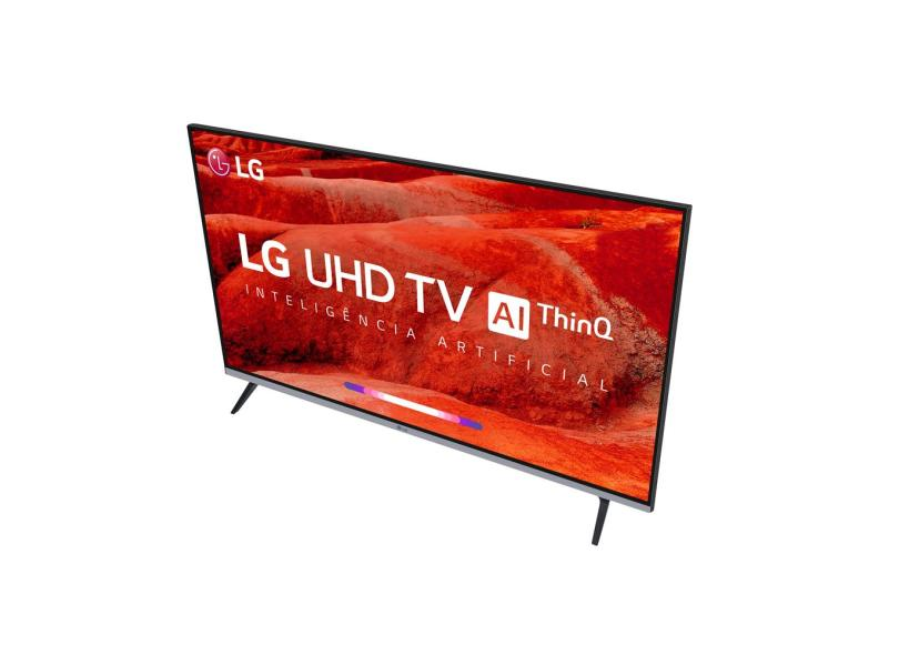 "Smart TV TV LED 65 "" LG ThinQ AI 4K 65UM7520PSB 4 HDMI"
