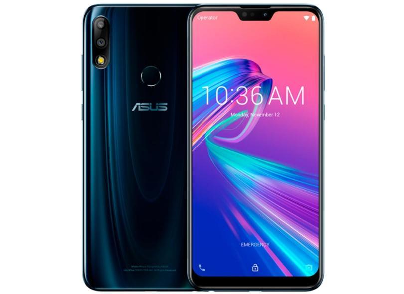 Smartphone Asus Zenfone Max Pro (M2) 6 GB 64GB Câmera Dupla Qualcomm Snapdragon 660 2 Chips Android 8.1 (Oreo)