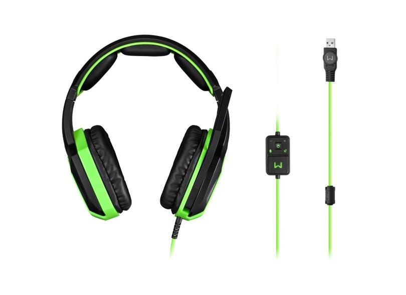 Headset com Microfone Multilaser Warrior PH224