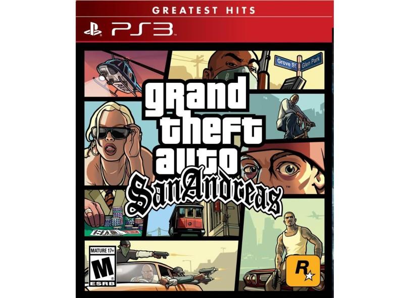 Jogo GTA San Andreas PlayStation 3 Rockstar