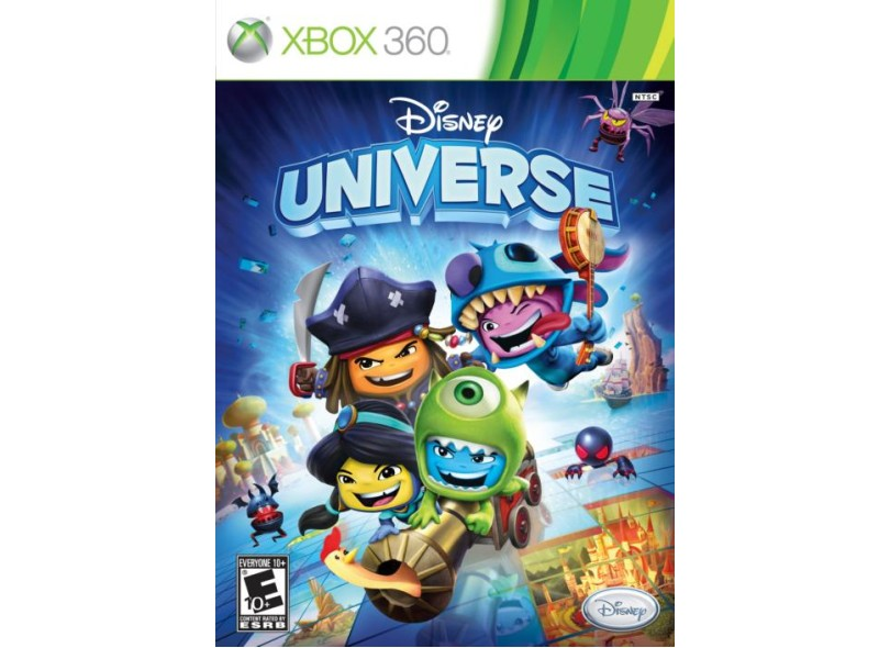 Jogo Disney Universe Disney Xbox 360