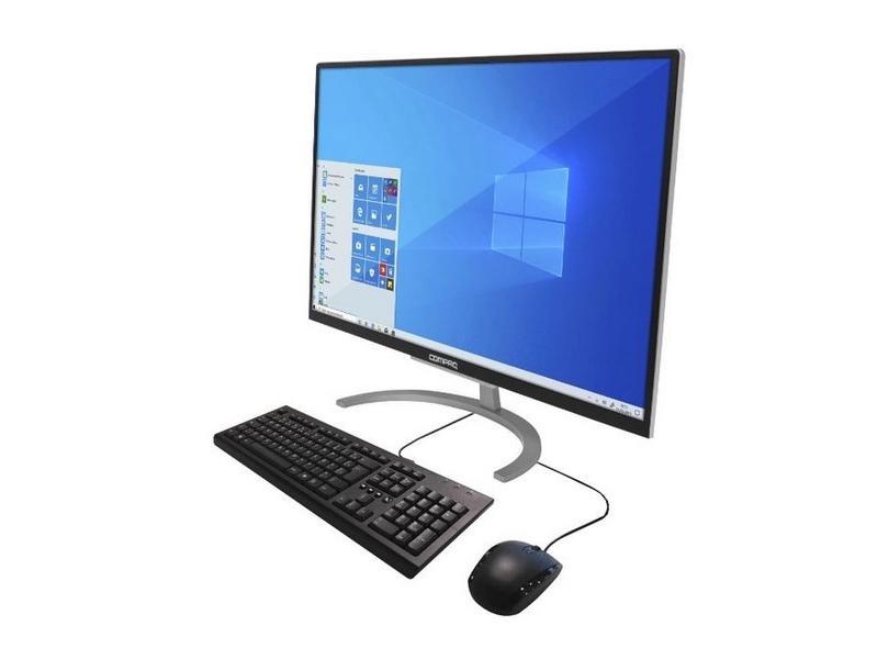 """All in One Compaq Intel Core i3 4 GB 16.0 GB 500 GB 23.8 """" Windows 10 Presario CQ-A1"""