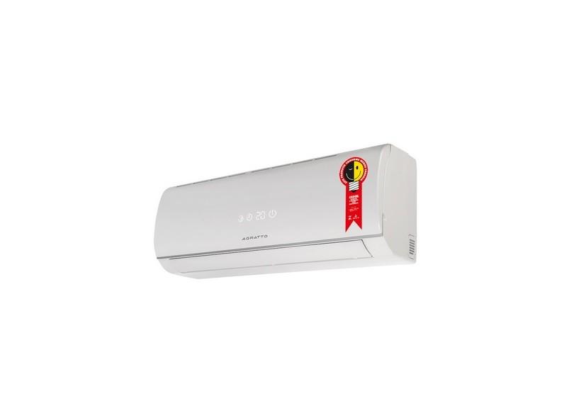 Ar Condicionado Split Hi Wall Agratto Confort One 18000 BTUs Controle Remoto Frio ECS18F-R4