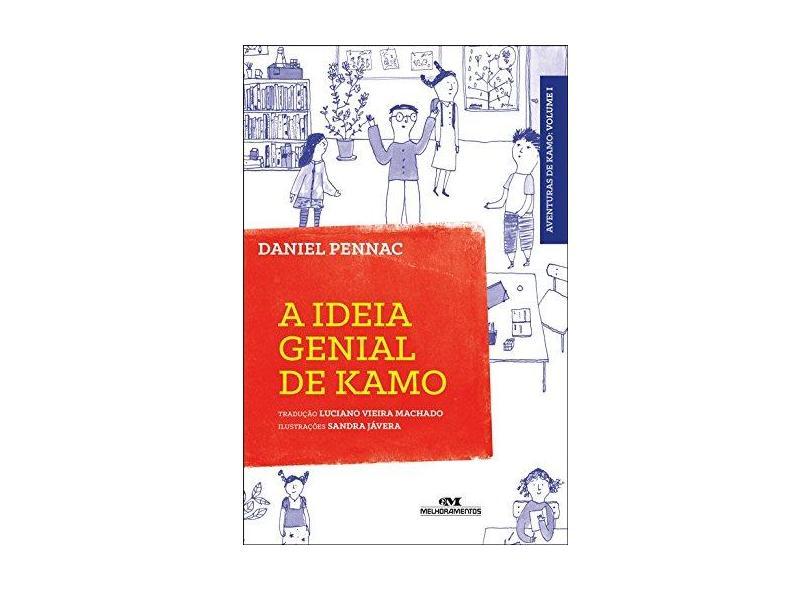 A Ideia Genial de Kamo - Pennac, Daniel; Jávera, Sandra - 9788506078891