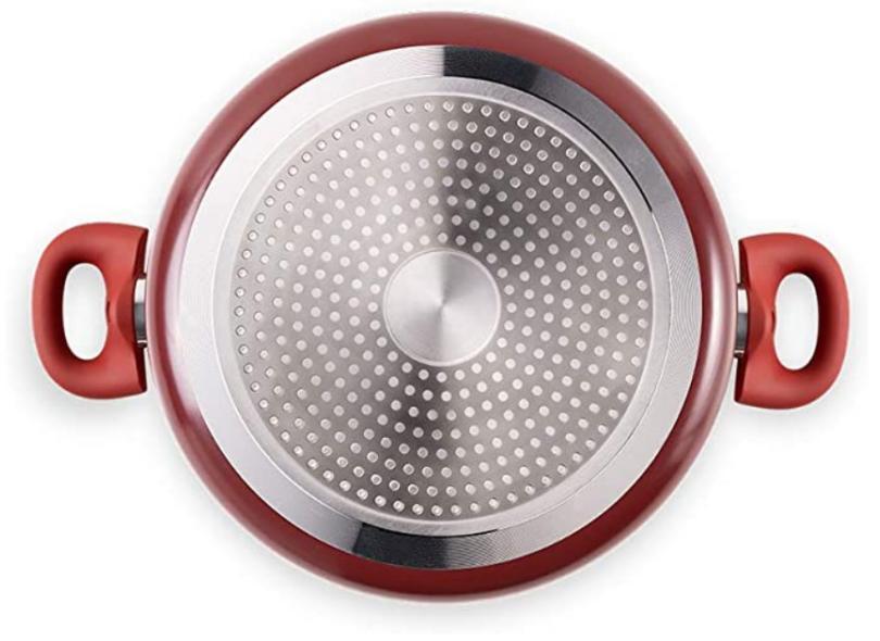 Conjunto de Panelas Alumínio 5 peça(s) Brinox Gourmet 4774/100 -Granada