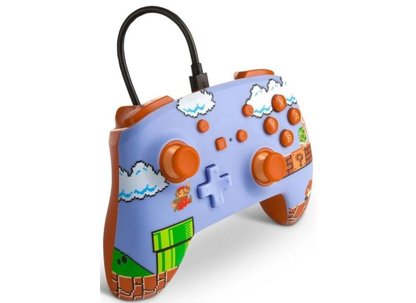 Controle Nintendo Switch Super Mario Bros. - Power A