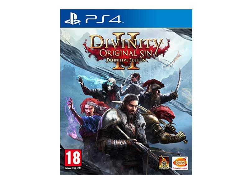 Jogo Divinity Original Sin 2 - Definitive Edition PS4 Bandai Namco