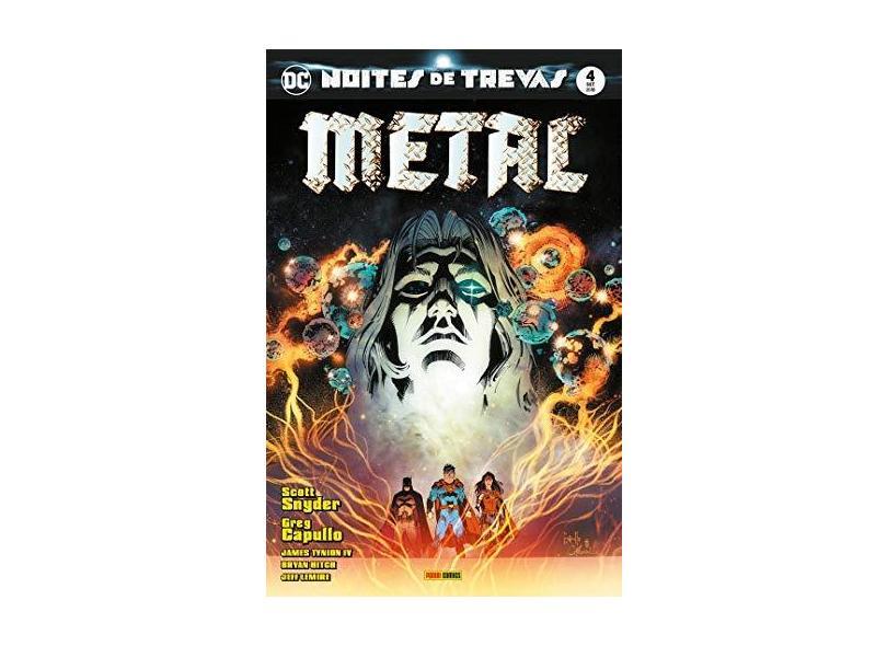 Noites De Trevas: Metal Vol. 4 - Scott Snyder - 9788542612899