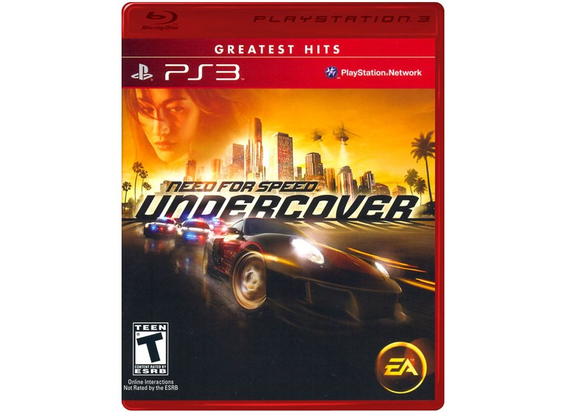 Jogo Need For Speed: Undercover EA PS3