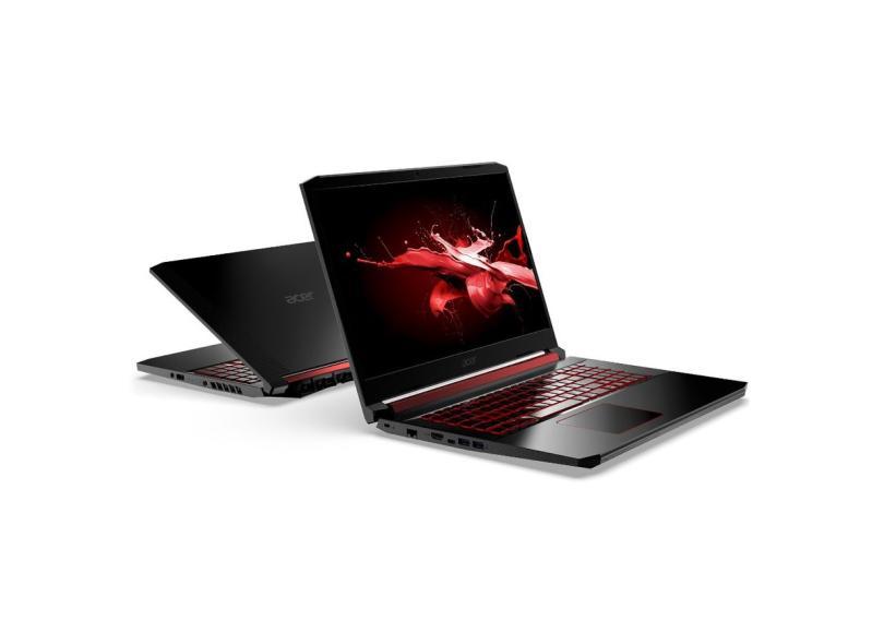 """Notebook Gamer Acer Aspire Nitro 5 Intel Core i5 9300H 9ª Geração 8.0 GB de RAM Híbrido 512.0 GB 15.6 """" Full GeForce GTX 1650 Endless OS AN515-54-574Q"""