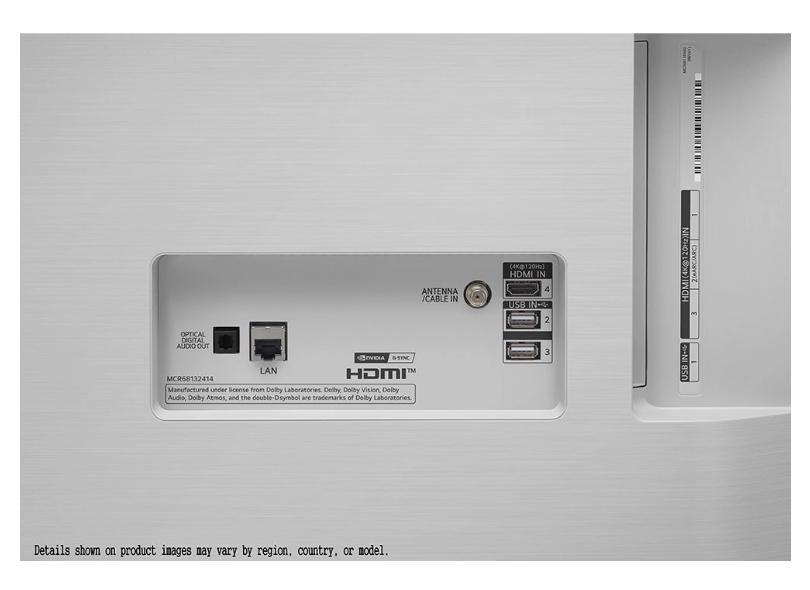 "Smart TV TV OLED 48"" LG ThinQ AI 4K HDR OLED48C1PSA 4 HDMI"