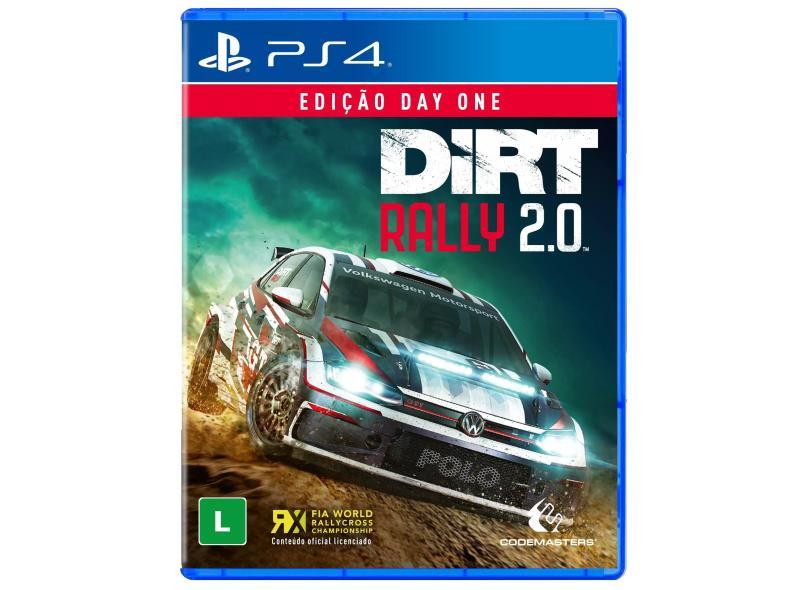 Jogo Dirt Rally 2.0 PS4 Codemasters