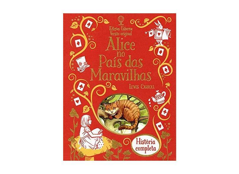 Alice No País Das Maravilhas - Versão Original - Lewis Carroll - 9781474910217