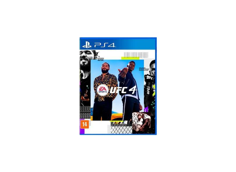 Jogo UFC 4 PS4 EA