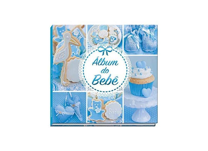 Álbum do Bebê - Azul - Editora Vale Das Letras - 7898948960172