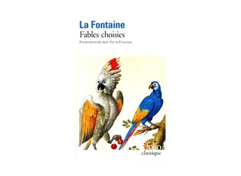 """Fables Choisies - """"la Fontaine, Jean De"""" - 9782070409143"""