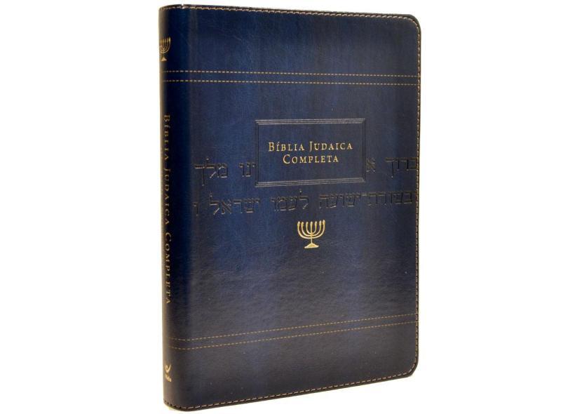 Bíblia Judaica Completa - Azul - David H. Stern - 9788000003801