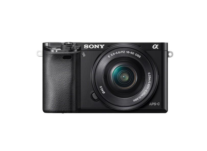 Câmera Digital DSLR(Profissional) Sony Alpha 24.3 MP Full HD a6000