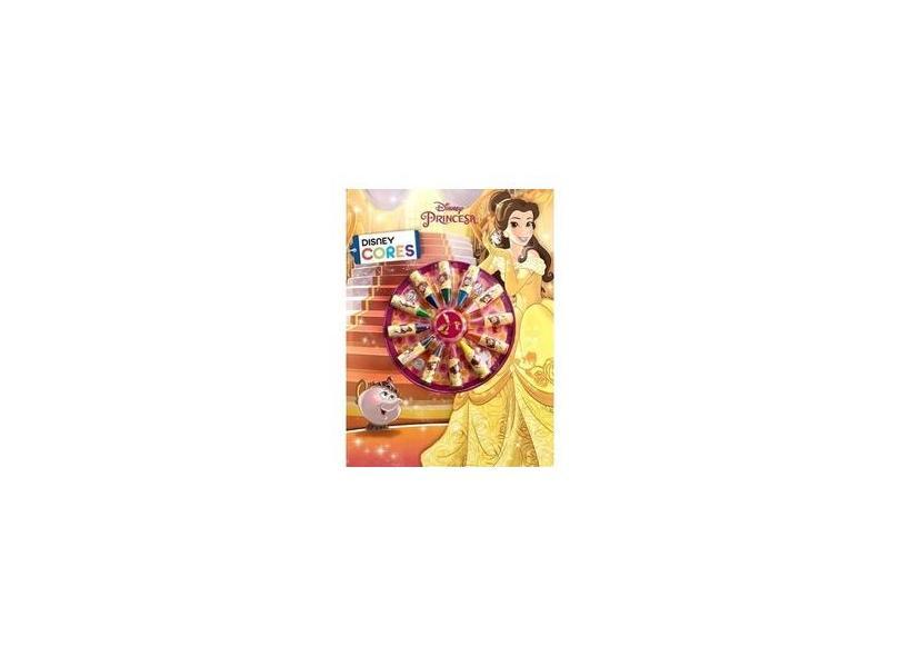Cores - A Bela e A Fera - Disney - 9788536823706