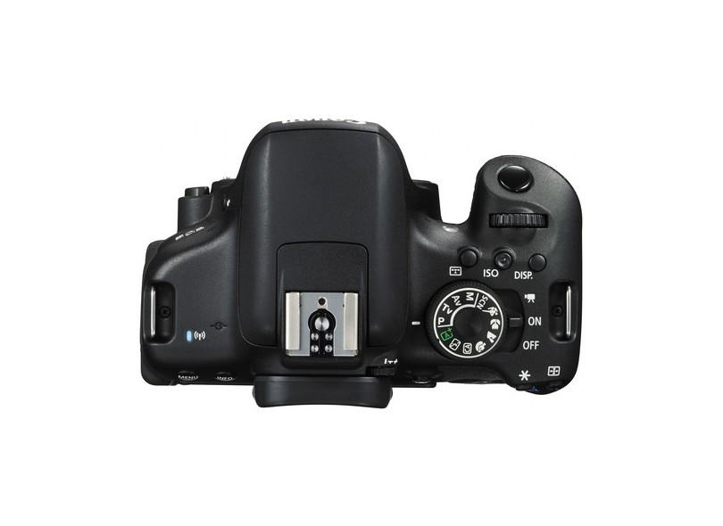 Câmera Digital DSLR(Profissional) Canon EOS 24.2 MP Full HD Rebel T6i