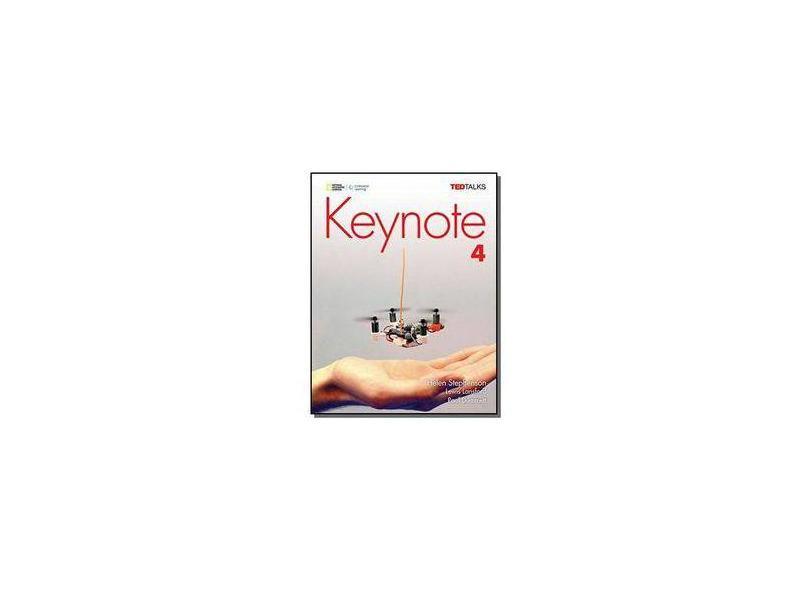 Keynote - Ame - 4 - Student Book With Keynote Online Sticker - Paul Dummett - 9781337104135