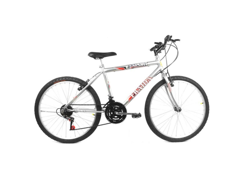 Bicicleta Mountain Bike Fraida 18 Marchas Aro 24 V-Brake
