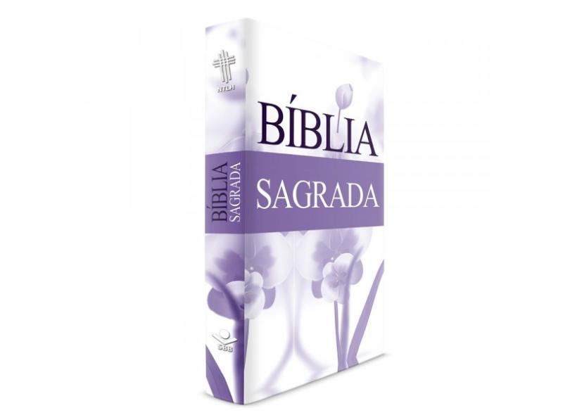 Bíblia da Mulher Florida Lilás - Capa Dura - Nova Tradução na Linguagem de Hoje - 606529916299