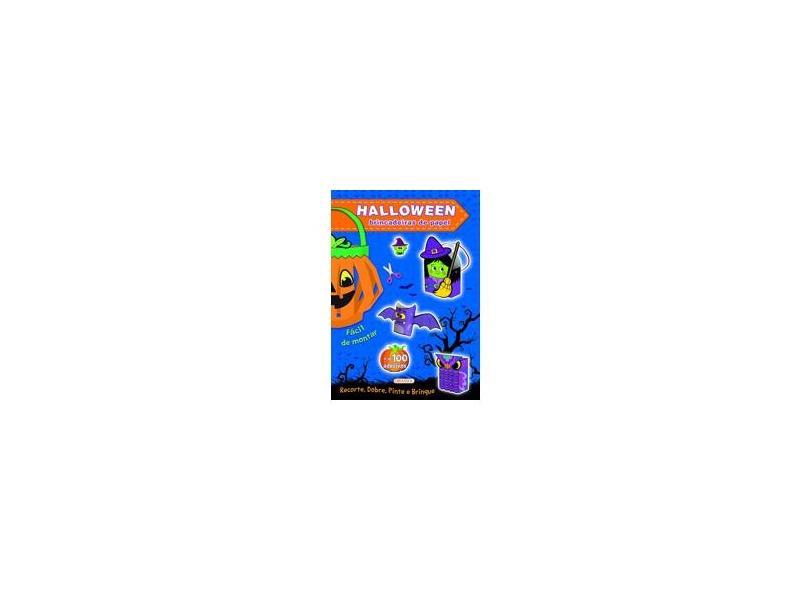 Halloween Azul. Brincadeiras de Papel: 01 - Vários Autores - 9788539423200