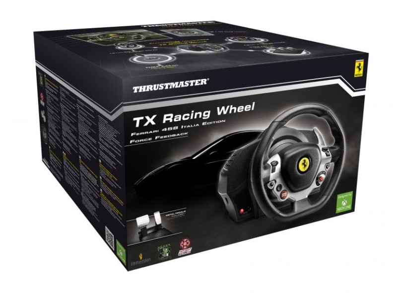 Cockpit PC Xbox One TX Racing Wheel Ferrari 458 Italia Edition - Thrustmaster