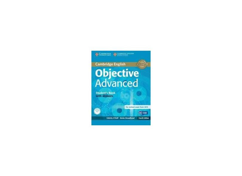 Objective Advanced Students Book With Answers Witd - Cambridge University - 9781107657557