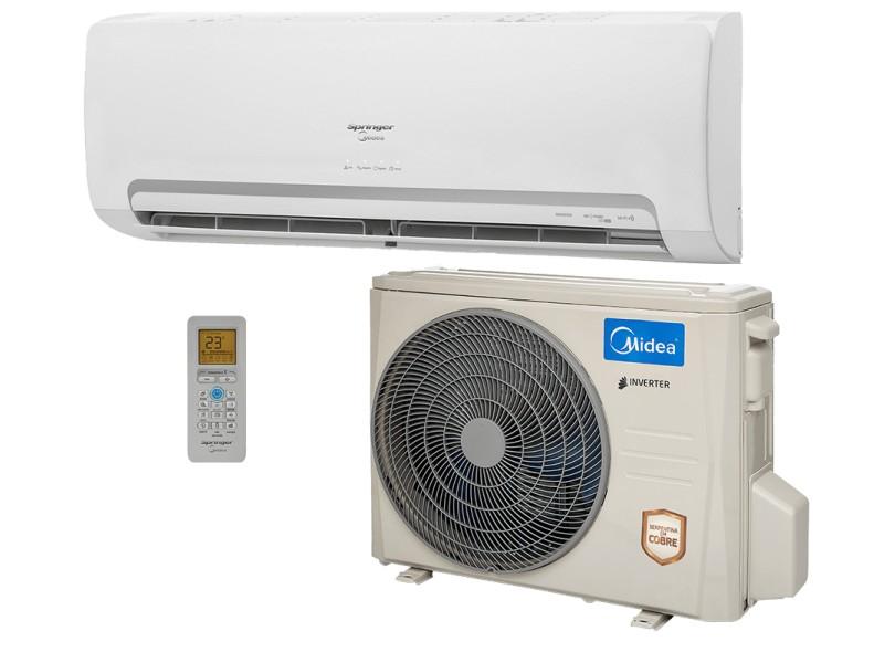 Ar Condicionado Split Hi Wall Springer Midea 23000 BTUs Inverter Controle Remoto Frio 42MBCA24M5 38MBCA24M5