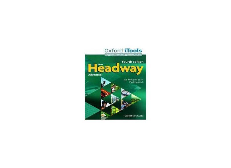 New Headway Advanced Itools Dvdrom - 4ª Edition - Liz Soars - 9780194713665