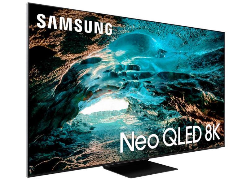 """Smart TV TV QLED 75 """" Samsung 8K HDR QN75QN800AGXZD 4 HDMI"""
