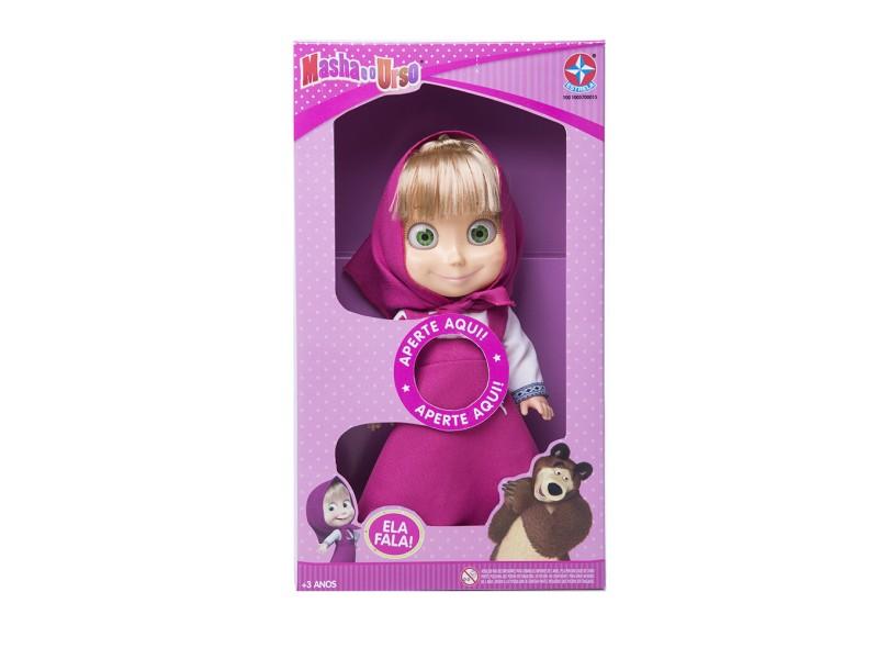 Boneca Masha e o Urso 35 CM Estrela