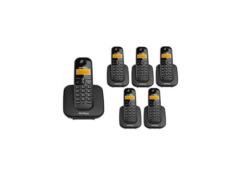 Telefone sem Fio Intelbras com 5 Ramais TS3110 + 5