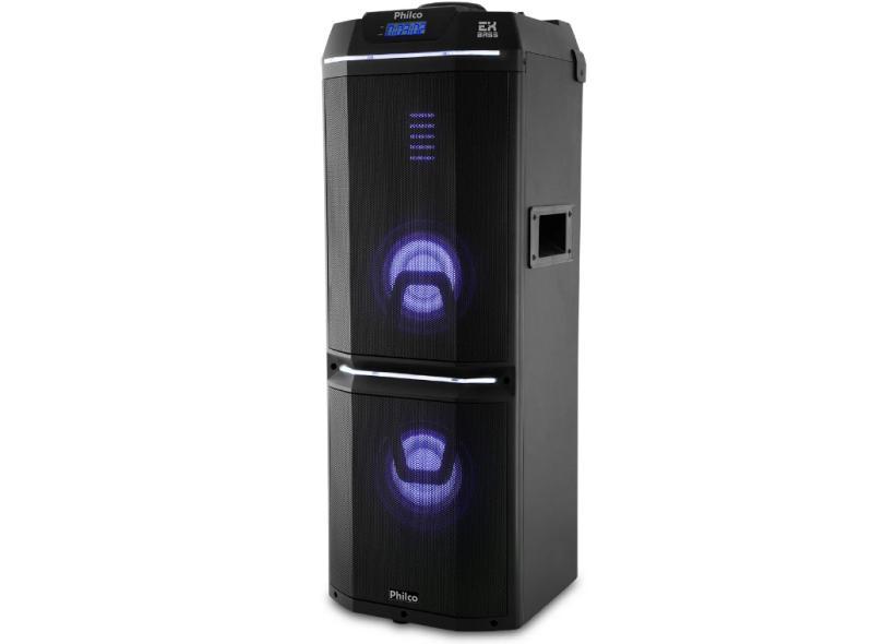 Caixa Acústica Philco PCX9000, USB, Reproduz MP3, Bluetooth - Bivolt