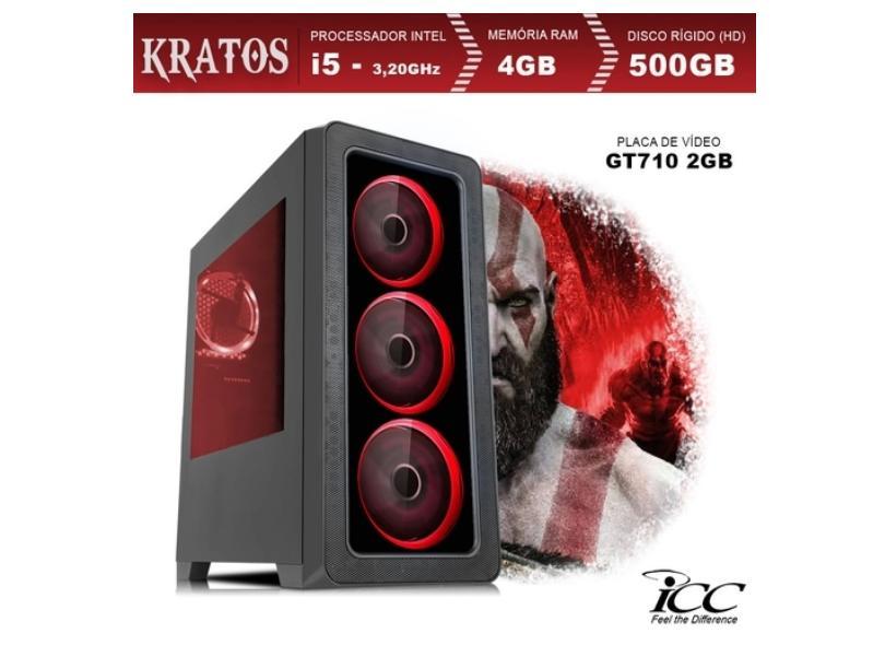 PC Gamer ICC Gamer Intel Core i5 3.2 GHz 4 GB 500 GB GeForce GT 710 Linux KT2541S