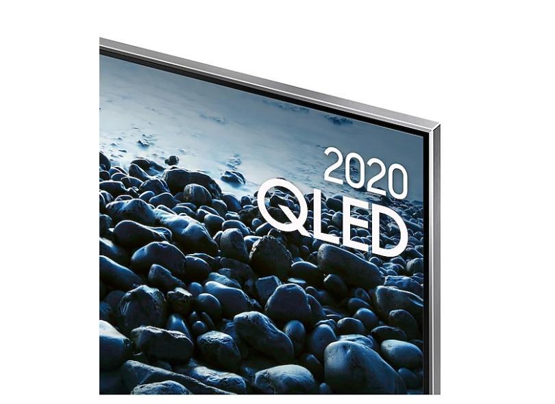 """Smart TV TV QLED 75"""" Samsung Q80T 4K QN75Q80TAGXZD 4 HDMI"""