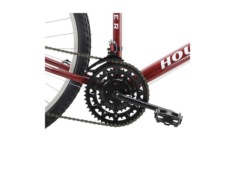 Bicicleta Houston 18 Marchas Aro 26 Freio V-Brake Foxer Hammer