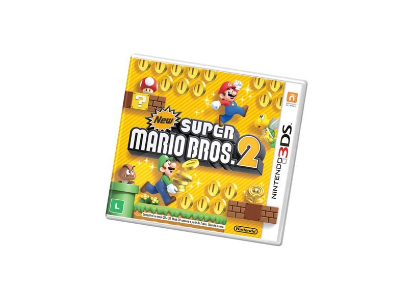 Jogo New Super Mario Bros 2 Nintendo Nintendo 3DS