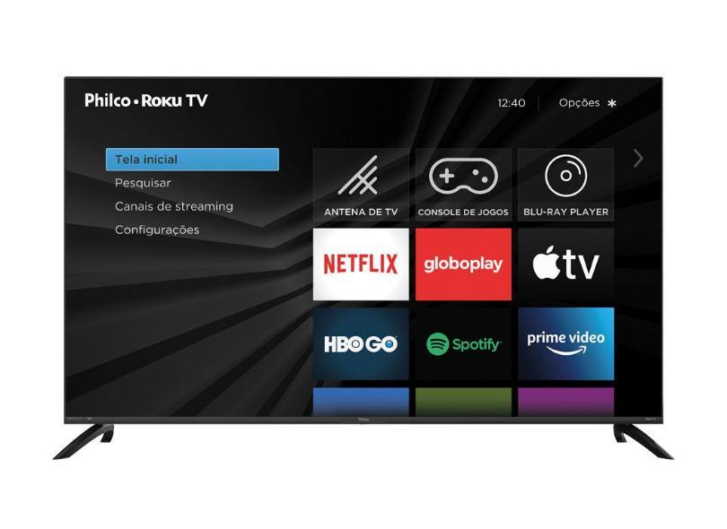 """Smart TV TV LED 58 """" Philco HDR PTV58G70RCBL 3 HDMI"""