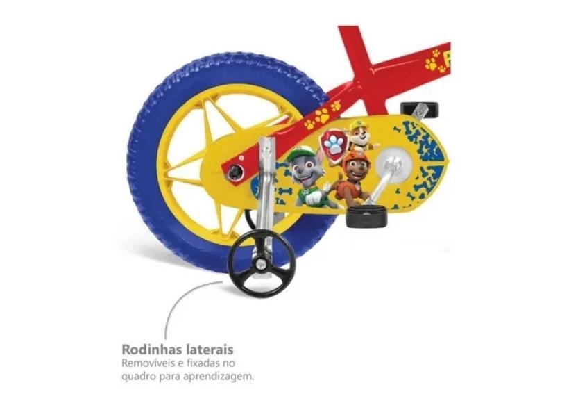 Bicicleta Bandeirante Lazer Aro 12 Patrulha Canina