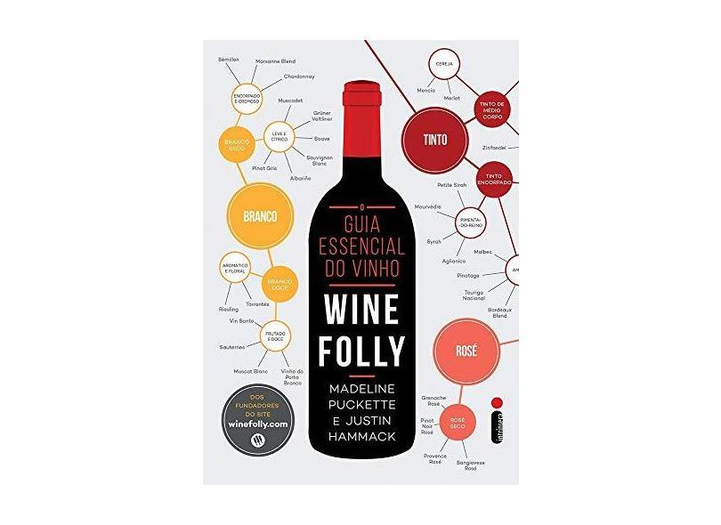 Guia Essencial do Vinho, O: Wine Folly - Madeline Puckette - 9788551000243