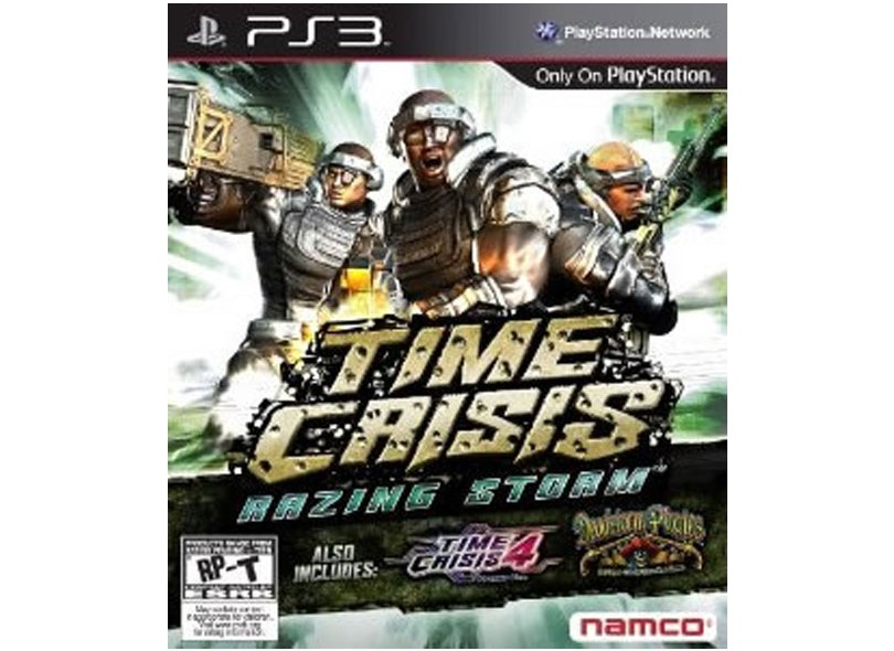 Jogo Time Crisis: Razing Storm Bandai Namco PS3