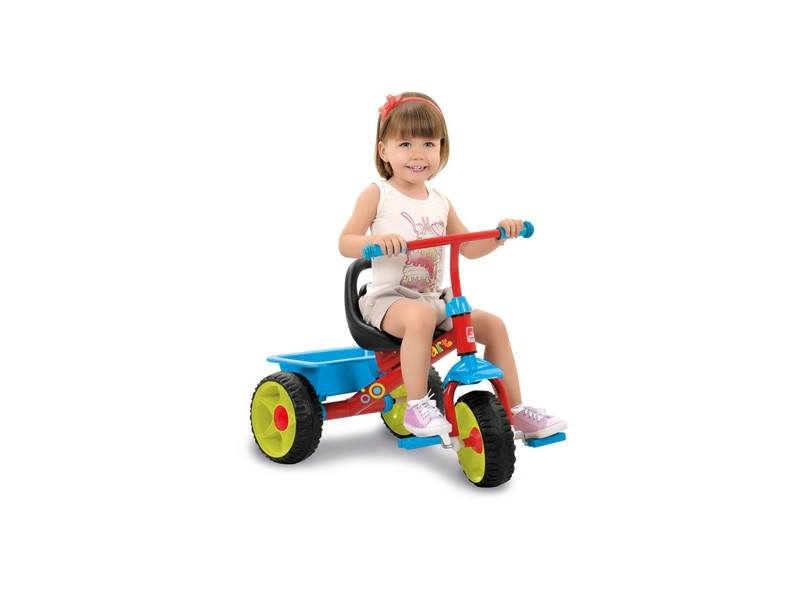Triciclo Bandeirante Smart Plus