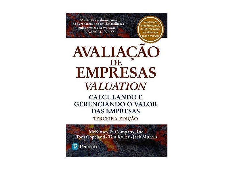 Avaliação de Empresas - Valuation - Copeland, Tom - 9788534613613
