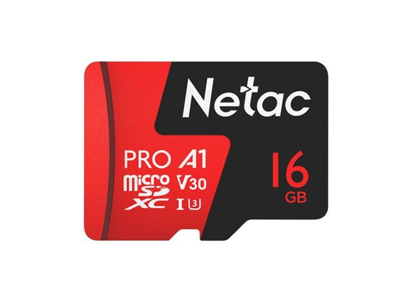 Cartão de Memória Micro SD Netac Extreme Pro 16.0 GB P500