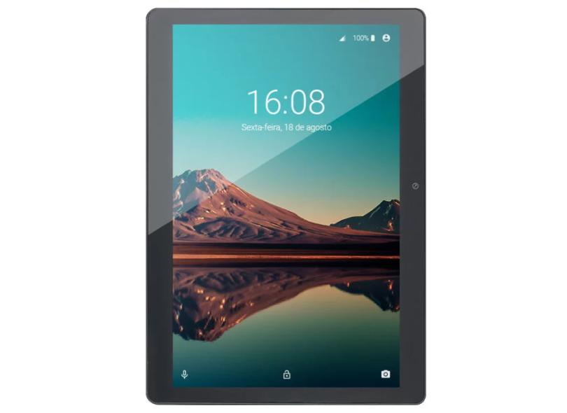 """Tablet Multilaser M10 Quad Core 4G 32.0 GB IPS 10.1 """" Android 10 5.0 MP NB339"""