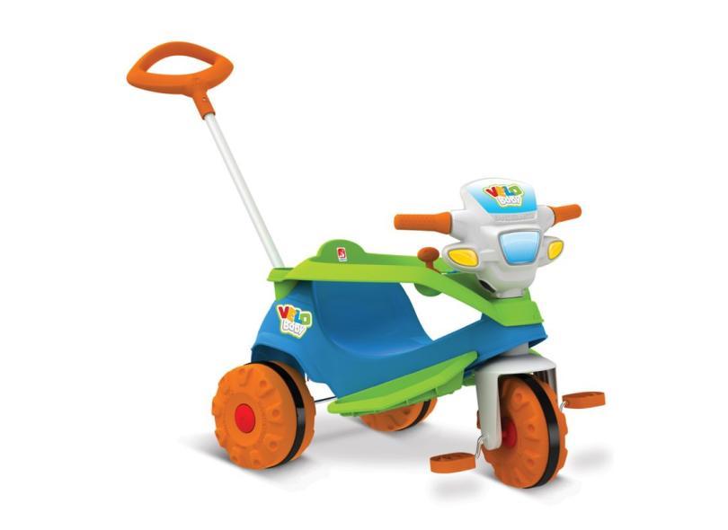 Triciclo com Pedal Bandeirante Velobaby 206